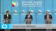 Greek Crisis Standoff