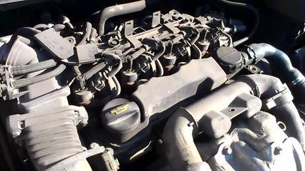 Ford focus 2 1.6tdci загрял