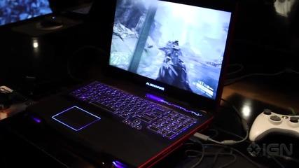 Alienware - Супер геймърски лаптоп [ H D 720p ]