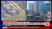 Стрелба във военна болница в Сан Диего