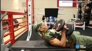 77 годишна тренира здраво във фитнеса!
