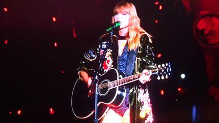 На живо от Санта Клара! Taylor Swift - Wildest Dreams - Reputation Stadium Tour