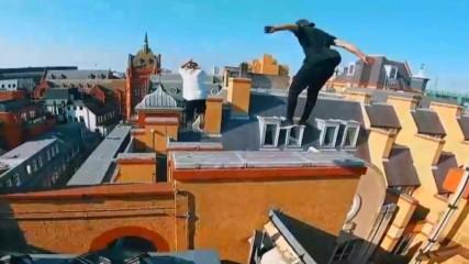 Шеметен бяг по покривите на Лондон