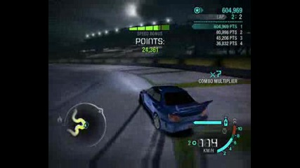Drift Subaru Sti