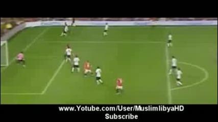Wayne Rooney гол - Valencia 1 - 0 Manchester United [5.08.09]