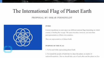 A Flag for Planet Earth