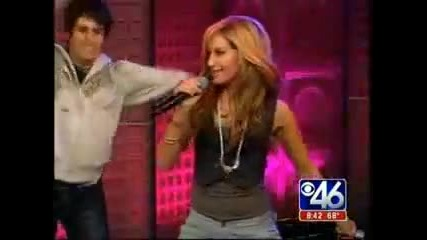 Ashley Tisdale Live@the Early Show - He Said She Said