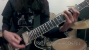 5 tipes of black metal guitar riff and how to play them