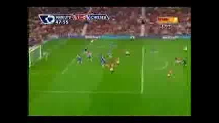 Manchester United 2:0 Chelsea (23.09.2007)