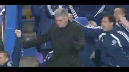 David Luiz s first goal vs Manchester United - Hq