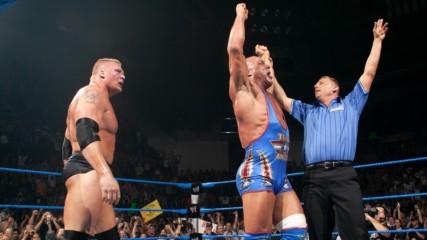 Kurt Angle & Brock Lesnar vs. Big Show & A-Train: SmackDown, July 31, 2003