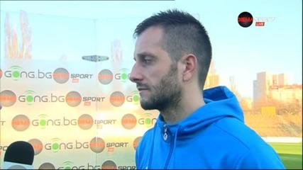 Борислав Стойчев след загубата на Левски от Славия с 0:1