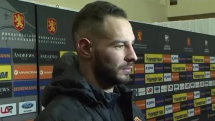 Симеон Славчев: Дадохме всичко в края, за да обърнем мача