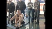 Държавния шампионат на гребен ергометър 2012- Георги Божилов
