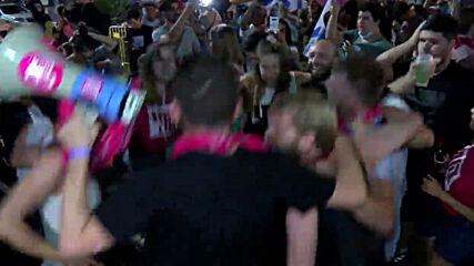 Israel: Thousands celebrate Netanyahu's departure as coalition confirmed