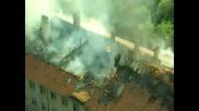 Пожар в Младост 3 пред блок 372