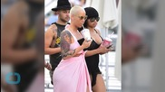 Amber Rose Is Unrecognizable While Wearing New Red Wig--Does She Look Like Jessica Rabbit?