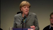 Germany: Merkel touts reduced refugee numbers at CDU campaign rally
