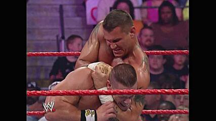 John Cena & Bobby Lashley vs. Randy Orton & King Booker: Raw, June 18, 2007 (Full Match)