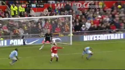 Феноменалният гол на Рууни със задна ножица срещу Манчестър Сити