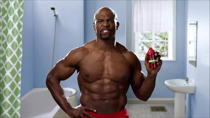 Old spice 2012 commercials (terry Crews)