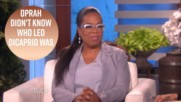 Oprah really struggled at Ellen's 60th birthday party