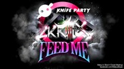 Feed Me vs. Knife Party vs. Skrillex - My Pink Reptile Party