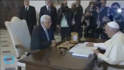 Pope Calls Palestinian Leader Abbas 'angel of Peace'