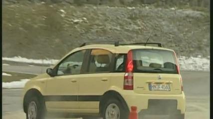 Fiat Panda 4x4 vs. Mercedes G 270 Cdi Klein gegen gro - das etwas andere Offroad - Duell