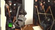 Протестиращи нахлуват в Министерството на Правосъдието в Украйна