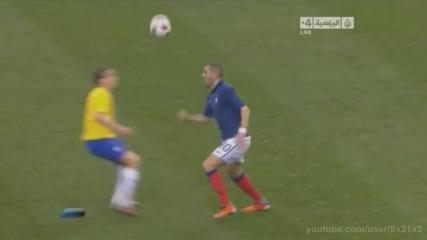 Kung - Fu удьр на Hernanes Франция - Бразилия