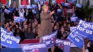 USA: Clinton praises Obama's economic record at South Carolina rally