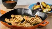 Goodlife: Мариновани котлети с печени зеленчуци