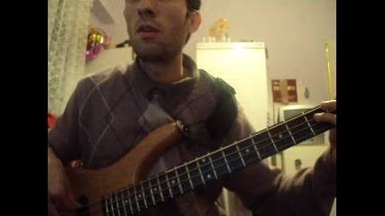Pink Floyd - Another brick in the wall (bass cover)