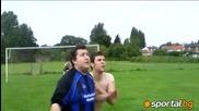 Ето как се играе в Англия когато отбор няма спонсор