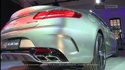 Световната премиера на Mercedes-benz: S 63 Amg Coupe