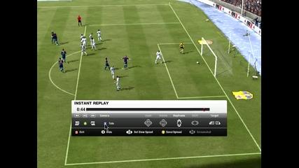 Fifa 12 Красив гол с David Villa