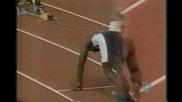 Michael Johnson - полуфинал на 400м световно в Севилия