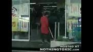 Чистачка Мие Автоматична Врата - Няма такъв смях