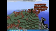 Minekraft - голям взрив на Tnt