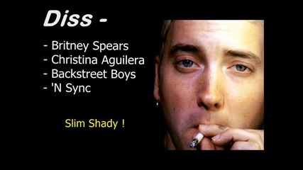 Eminem - Freestyle Gone Crazy ( Spears, Aguilera, Bsb , N' Syns Diss )