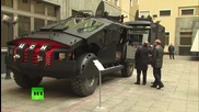 Путин разгледа новите бронирани превозни средства за специални сили на Фсб