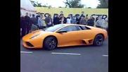 Porche Carreara Gt And A Lamborghini