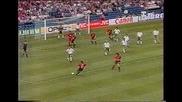 Испания- България 1-1,евро 1996