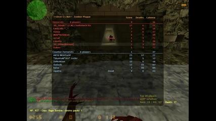 Cs 1.6 Gameplay Zombie Server :p