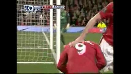 31.10.09 Манчестър Юнайтед - Блекбърн 1:0 Димитър Бербатов Гол !