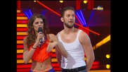 Dancing Stars - Михаела Филева и Светльо samba (18.03.2014г.)
