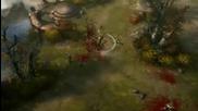 diablo 3 - Barbarian Whirlwind Gameplay