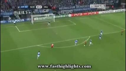 Шалке 04 - Манчестър Юнайтед 0:2