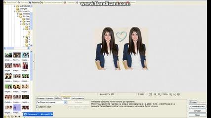 Kaк да копираме част от изображение с Photoscape